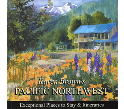 Karen Brown's Pacific Northwest Book Cover