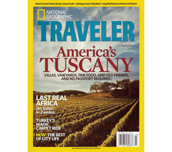 Cover, National Geographic Traveler
