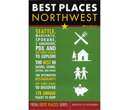 Book Cover, Best Places Northwest
